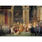 Puzzle  Clementoni-31416 David: Die Krönung Napoleons I