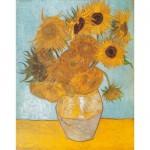 Puzzle  Clementoni-31438 Vincent van Gogh: Die Sonnenblumen