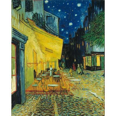 Puzzle  Clementoni-31470 Van Gogh: Caféterrasse am Abend