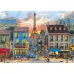 Puzzle  Clementoni-31679 Dominic Davison - Pariser Straße