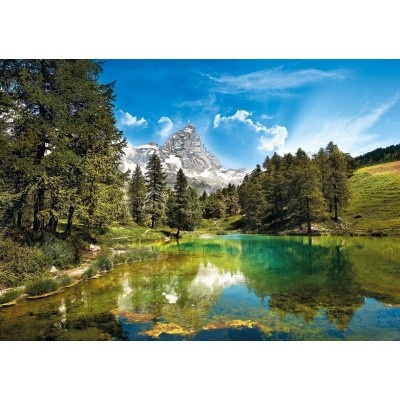 Puzzle  Clementoni-31680 Der blaue See