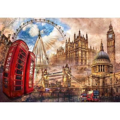 Puzzle  Clementoni-31807 London