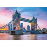 Puzzle  Clementoni-31816 Tower Bridge Sunset