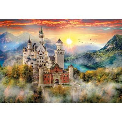 Puzzle  Clementoni-32559 Neuschwanstein