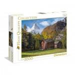 Puzzle  Clementoni-32561 Faszinierendes Matterhorn