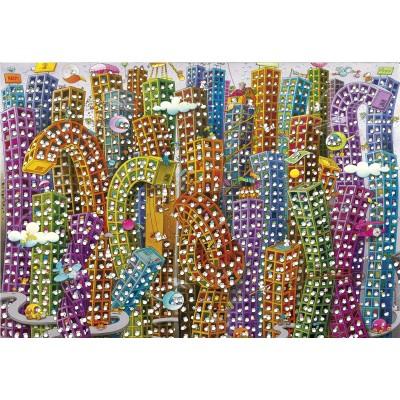 Puzzle  Clementoni-32565 Mordillo