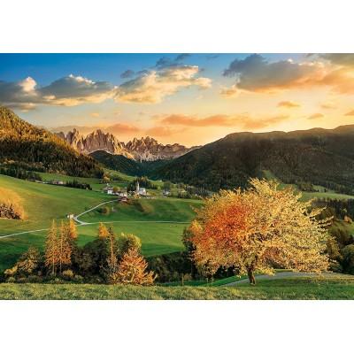 Puzzle  Clementoni-33545 Die Alpen