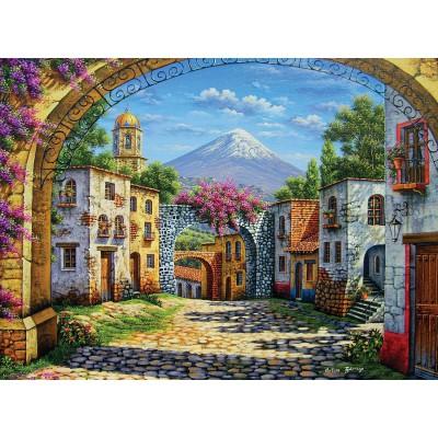 Puzzle  Clementoni-35025 Zarraga: Der Vulkan