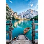 Puzzle  Clementoni-35039 Pragser Wildsee