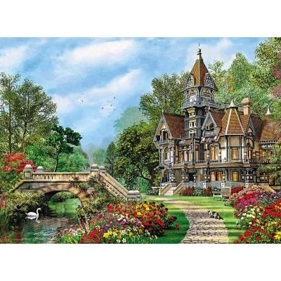 Puzzle Clementoni-35048 Altes Cottage