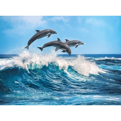 Puzzle Clementoni-35055 Delfine