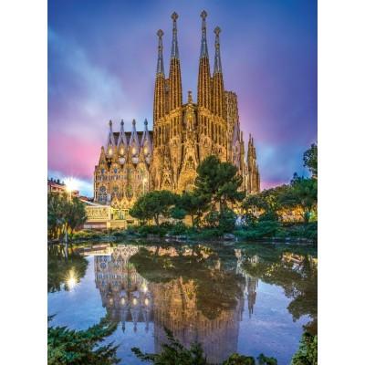Puzzle  Clementoni-35062 Sagrada Familia, Barcelona