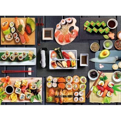 Puzzle  Clementoni-35064 Sushi