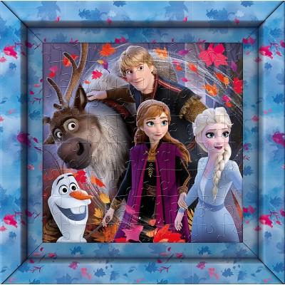 Puzzle  Clementoni-38803 Frame Me Up - Disney Frozen 2