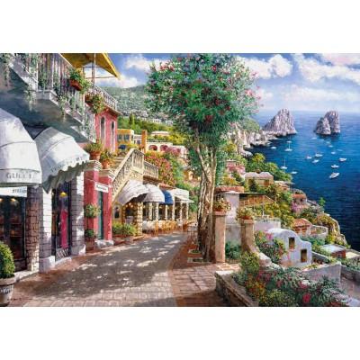 Puzzle  Clementoni-39257 Capri, Italien