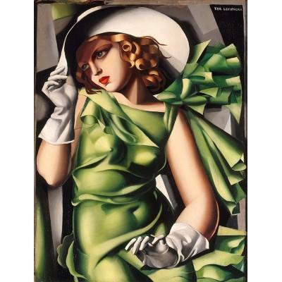 Puzzle  Clementoni-39332 Tamara de Lempicka - Junges Mädchen