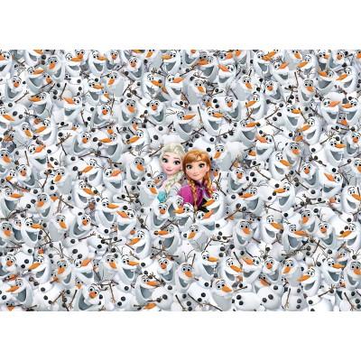 Clementoni-39360 Impossible Puzzle: Frozen - Die Eiskönigin