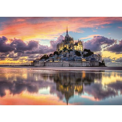 Puzzle  Clementoni-39367 Mont Saint-Michel, Frankreich