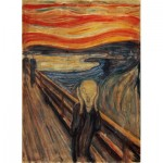 Puzzle  Clementoni-39377 Munch Edvard : Der Schrei