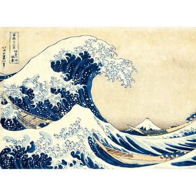 Puzzle  Clementoni-39378 Hokusai: Die Welle