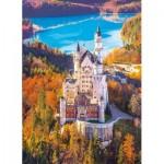Puzzle  Clementoni-39382 Neuschwanstein