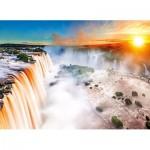 Puzzle  Clementoni-39385 Wasserfall