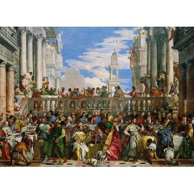 Puzzle  Clementoni-39391 Veronese: Hochzeit zu Kana