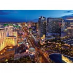 Puzzle  Clementoni-39404 Virtual Reality - Las Vegas