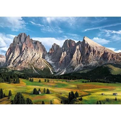 Puzzle  Clementoni-39414 Die Krönung der Alpen