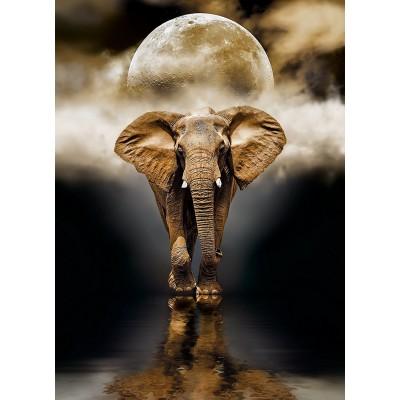 Puzzle  Clementoni-39416 Elefant