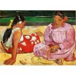 Puzzle  Clementoni-39433 Paul Gauguin - Frauen von Tahiti auf dem Strand