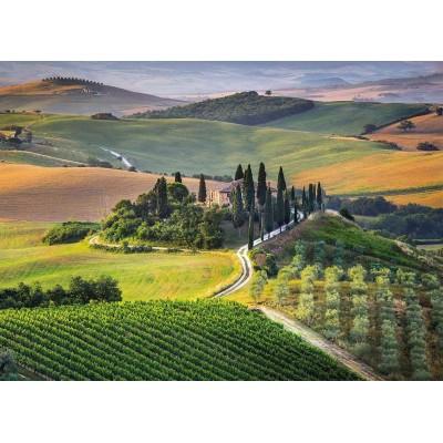 Puzzle  Clementoni-39456 Toskana, Italien