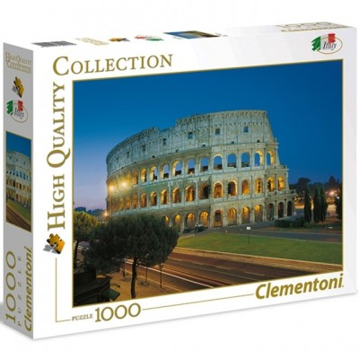 Puzzle  Clementoni-39457 Kolosseum, Rom