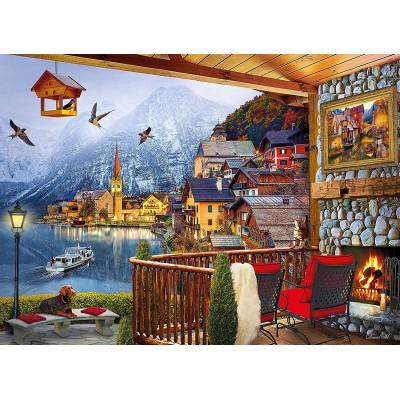 Puzzle  Clementoni-39481 Hallstatt