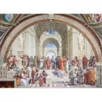 Puzzle  Clementoni-39483 Raffael - Die Schule von Athen