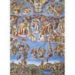 Puzzle  Clementoni-39497 Michelangelo - Das jüngste Gericht