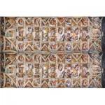 Puzzle  Clementoni-39498 Michelangelo - Decke der Sixtinischen Kapelle