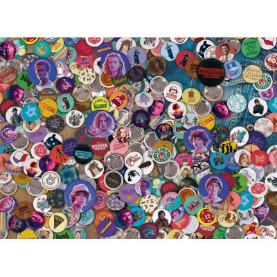 Puzzle  Clementoni-39528 Stranger Things