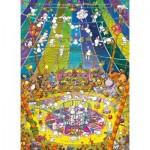 Clementoni-39536 Mordillo Puzzle - The Show