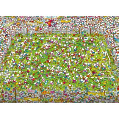 Puzzle  Clementoni-39537 Mordillo The Match