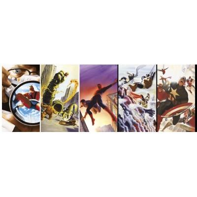 Puzzle  Clementoni-39546 Marvel 80 Years