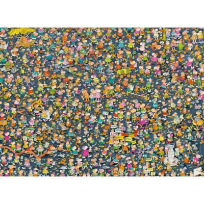 Clementoni-39550 Impossible Puzzle - Mordillo