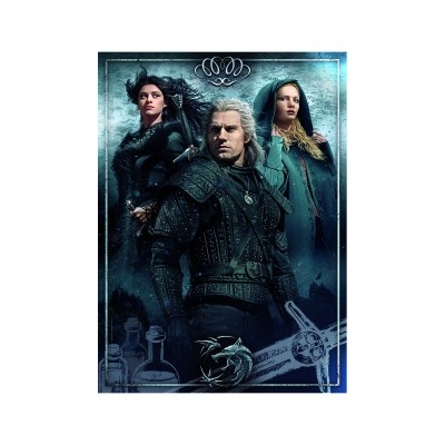 Puzzle  Clementoni-39592 The Witcher