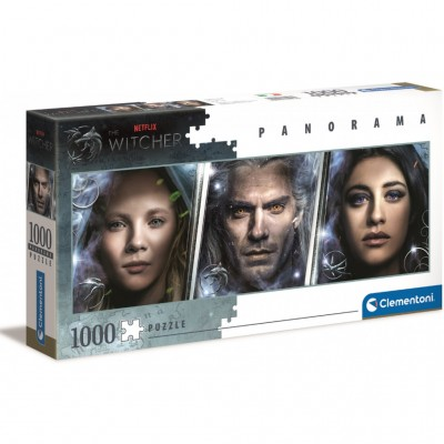 Puzzle  Clementoni-39593 The Witcher