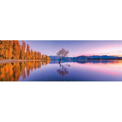 Puzzle  Clementoni-39608 Lake Wanaka Tree