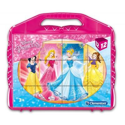 Clementoni-41181 Würfelpuzzle - Ben 10Disney Princess