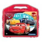 Clementoni-41185 Würfelpuzzle - Cars