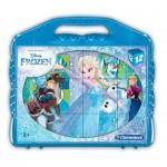 Clementoni-41186 Würfelpuzzle - Frozen