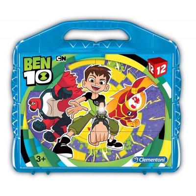 Clementoni-41188 Würfelpuzzle - Ben 10