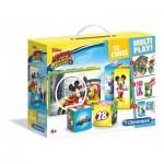 Clementoni-41508 Würfelpuzzle - Mickey